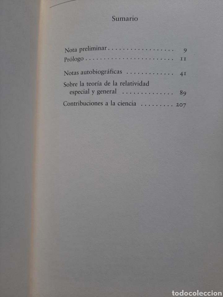 Libros de segunda mano de Ciencias: Albert Einstein - autobiografía y escritos científicos - Foto 2 - 223078911