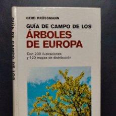 Livros em segunda mão: KRÜSSMANN - GUÍA DE CAMPO DE LOS ÁRBOLES DE EUROPA. Lote 223202053