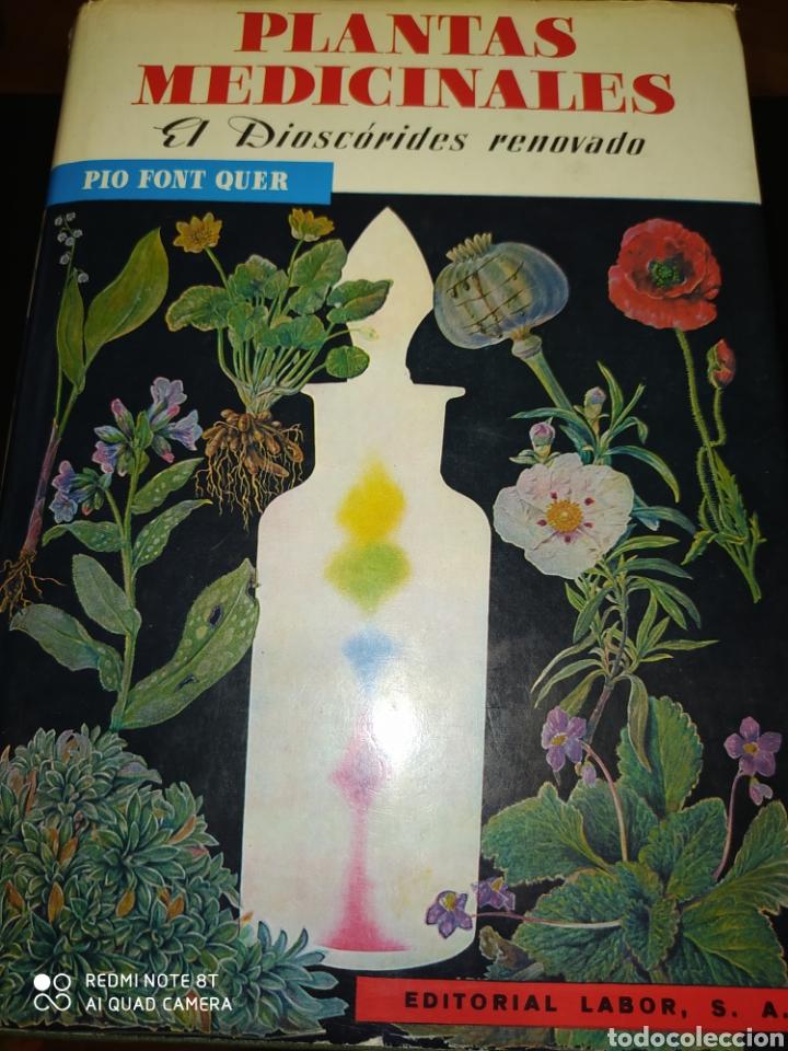 PLANTAS MEDICINALES. EL DIOSCÓRIDES RENOVADO. PÍO FONT QUER. EDITORIAL LABOR. AÑO 1985. CARTONÉ CON (Libros de Segunda Mano - Ciencias, Manuales y Oficios - Biología y Botánica)
