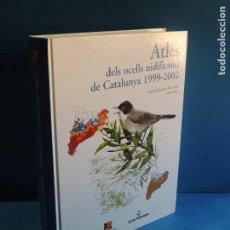 Livros em segunda mão: ATLES DELS OCELLS NIDIFICANTS DE CATALUNYA 1999-2000.- DIVERSOS AUTORS (CATALÁN/ INGLÉS). Lote 224723012