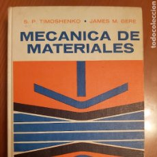Libros de segunda mano de Ciencias: MECÁNICA DE MATERIALES. TAPA DURA ED 1972. Lote 224773528