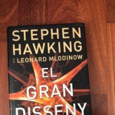 Libros de segunda mano de Ciencias: EL GRAN DISSENY - STEPHEN HAWKING, LEONARD MLODINOW. Lote 224785822