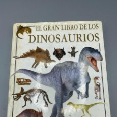 Libros de segunda mano: EL GRAN LIBRO DE LOS DINOSAURIOS. DAVID LAMBERT. EDITORIAL AGUILAR. EL PAIS. PAGS: 191. Lote 295912248