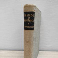 Libros de segunda mano: TRATADO DE BOTÁNICA STRASBURGER. CUARTA EDICIÓN. 1953 MARÍN. Lote 225253230