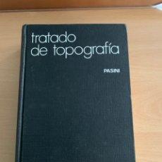 Libros de segunda mano de Ciencias: TRATADO TOPOGRAFIA .PASINI.GUSTAVO GILI. Lote 226219650