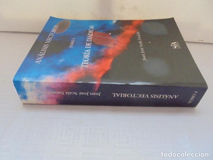 Libros de segunda mano de Ciencias: ANALISIS VECTORIAL. TOMO 4. TEORIA DE DIADICAS. JUAN JOSE ESTALELLA. EDITORIAL SOCIEDAD DE AMIGOS - Foto 3 - 226675600