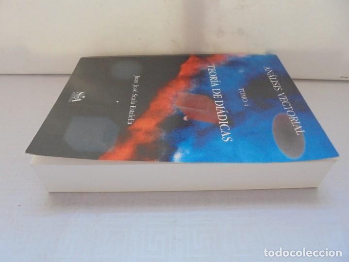 Libros de segunda mano de Ciencias: ANALISIS VECTORIAL. TOMO 4. TEORIA DE DIADICAS. JUAN JOSE ESTALELLA. EDITORIAL SOCIEDAD DE AMIGOS - Foto 5 - 226675600