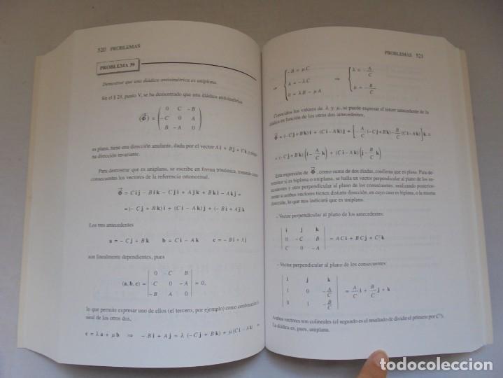 Libros de segunda mano de Ciencias: ANALISIS VECTORIAL. TOMO 4. TEORIA DE DIADICAS. JUAN JOSE ESTALELLA. EDITORIAL SOCIEDAD DE AMIGOS - Foto 12 - 226675600