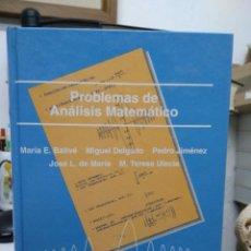 Livros em segunda mão: PROBLEMAS DE ANÁLISIS MATEMÁTICO, VARIOS AUTORES. L.22637. Lote 227221820
