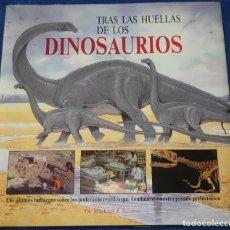 Libros de segunda mano: TRAS LAS HUELLAS DE LOS DINOSAURIOS - DR. MICHAEL J. BENTON - ACANTO (1991). Lote 227280285