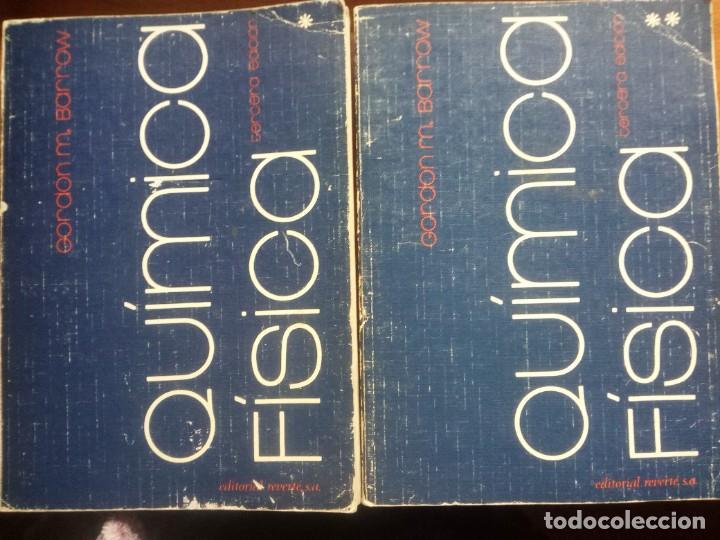 QUÍMICA FÍSICA 2T POR GORDON M. BARROW DE REVERTÉ EN BARCELONA 1976 3ª EDICIÓN (Libros de Segunda Mano - Ciencias, Manuales y Oficios - Física, Química y Matemáticas)