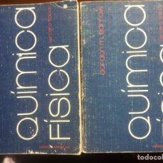 Libros de segunda mano de Ciencias: QUÍMICA FÍSICA 2T POR GORDON M. BARROW DE REVERTÉ EN BARCELONA 1976 3ª EDICIÓN. Lote 227482600