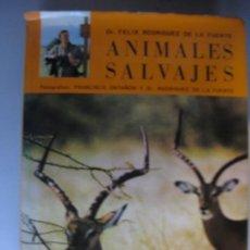 Libros de segunda mano: ANIMALES SALVAJES DE AFRICA ORIENTAL - DR. FELIX RODRIGUEZ DE LA FUENTE. Lote 227767035
