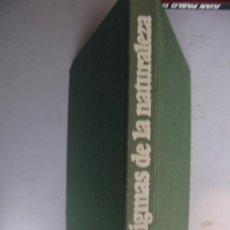 Libros de segunda mano: ENIGMAS DE LA NATURALEZA. HELGA MENZEN-TETTENBORN Y FRANZ K. THEODOR. ED. CÍRCULO DE LECTORES. BARC. Lote 227767550