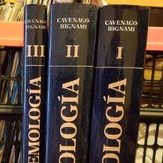 Libros de segunda mano: GEMOLOGÍA - SPERANZA CAVENAGO / BIGNAMI MONETA TOMOS I - II Y III. Lote 228961185