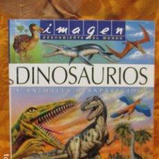 Libros de segunda mano: DINOSAURIOS Y ANIMALES DESAPARECIDOS (A PARTIR DE 10 AÑOS) - GABRIEL BEAUFAY. Lote 263107325