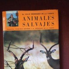 Livros em segunda mão: ANIMALES SALVAJES FÉLIX RODRÍGUEZ DE LA FUENTE EVEREST 1970 (ÁFRICA ORIENTAL). Lote 229067765