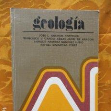 Libros de segunda mano: GEOLOGÍA. MANUALES DE ORIENTACIÓN UNIVERSITARIA. ANAYA. Lote 263099105