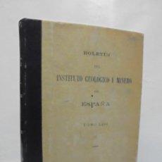 Libros de segunda mano: BOLETIN DEL INSTITUTO GEOLOGICO Y MINERO DE ESPAÑA. TOMO LXIII. 1951. LIT. COULLAUT.. Lote 229351555