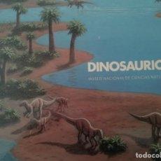 Libros de segunda mano: DINOSAURIOS PUBLICACIÓN DEL MUSEO NACIONAL DE CIENCIAS NATURALES. Lote 274168628