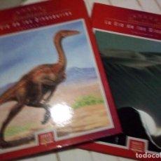 Libros de segunda mano: LA ERA DE LOS DINOSAURIOS, 2 TOMOS. Lote 230282295