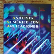 Libros de segunda mano de Ciencias: ANÁLISIS NUMÉRICO CON APLICACIONES. GERALD- WHEATLEY. Lote 232866230