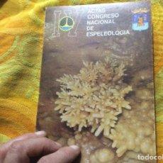 Libros de segunda mano: IV ACTAS CUARTO 4 CONGRESO NACIONAL DE ESPELEOLOGIA CUEVA NERJA CUEVA SOLENCIO BASTARAS QUIROPTEROS. Lote 233040180