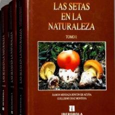 Libri di seconda mano: LAS SETAS EN LA NATURALEZA. 3 TOMOS (COMPLETA). IBERDROLA.. Lote 252710850