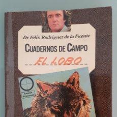 Livres d'occasion: CUADERNOS DE CAMPO, FÉLIX RODRÍGUEZ DE LA FUENTE, EL LOBO Nº 3. Lote 233253145
