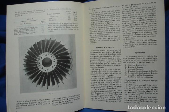 Libros de segunda mano de Ciencias: EL NIQUELADO QUÍMICO KANIGEN - R. FONTANALS - ED. CEDEL 1965 - Foto 3 - 233594145