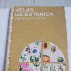 Livres d'occasion: ATLAS DE BOTÁNICA PARA BOTÁNICA DE FARMACIA. Lote 233684240