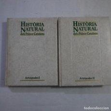 Libros de segunda mano: HISTÒRIA DELS PAÏSOS CATALANS 9 Y 10. ATRÒPODES I Y II - 1986 Y 1987 - CATALAN. Lote 233918445