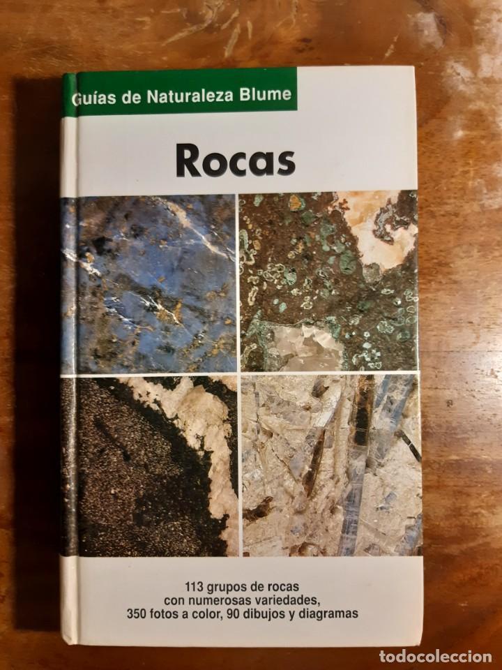 ROCAS GUÍAS DE LA NATURALEZA BLUME (Libros de Segunda Mano - Ciencias, Manuales y Oficios - Paleontología y Geología)