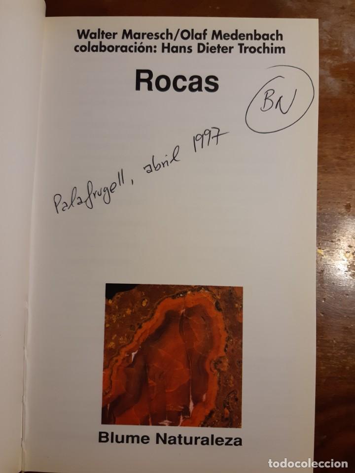 Libros de segunda mano: Rocas Guías de la naturaleza Blume - Foto 9 - 233945030