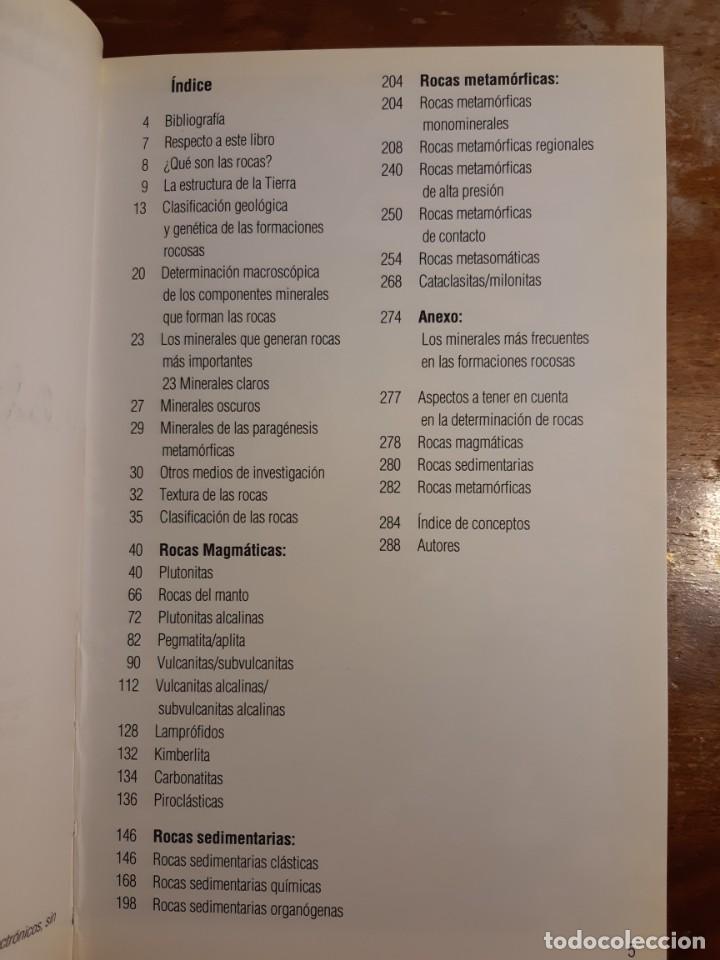 Libros de segunda mano: Rocas Guías de la naturaleza Blume - Foto 11 - 233945030