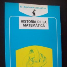 Libros de segunda mano de Ciencias: HISTORIA DE LA MATEMÁTICA - JUAN ARGÜELLES RODRÍGUEZ . AKAL. MUY ILUSTRADO. Lote 234305195
