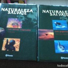 Libros de segunda mano: NATURALEZA SALVAJE -- 4 TOMOS -- PLANETA 2001 --. Lote 234465940