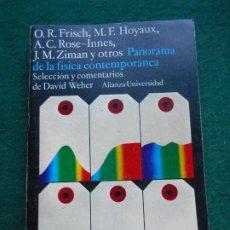 Libros de segunda mano de Ciencias: PANORAMA DE LA FISICA CONTEMPORANEA. Lote 234650090