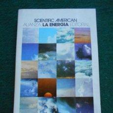 Libros de segunda mano de Ciencias: LA ENERGIA ALIANZA EDITORIAL. Lote 234650500