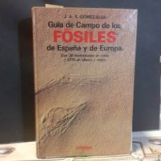Livros em segunda mão: GUIA DE CAMPO DE LOS FÓSILES DE ESPAÑA Y DE EUROPA. Lote 234686210