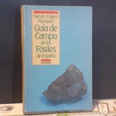 Livros em segunda mão: GUÍA DE CAMPO DE LOS FÓSILES DE ESPAÑA. Lote 234689210