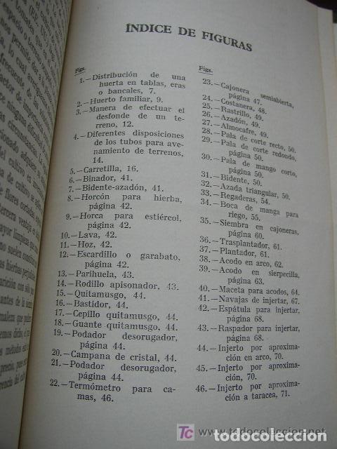 Libros de segunda mano: HORTICULTURA Y FRUTICULTURA-ROGELIO PEÑA-3ª. EDC.- JOSÉ MONTESÓ, EDT.- 1955-BAR.-VER FOTOS. - Foto 6 - 234917025