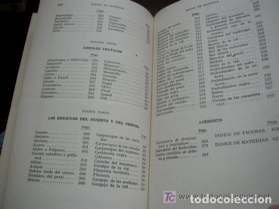 Libros de segunda mano: HORTICULTURA Y FRUTICULTURA-ROGELIO PEÑA-3ª. EDC.- JOSÉ MONTESÓ, EDT.- 1955-BAR.-VER FOTOS. - Foto 12 - 234917025