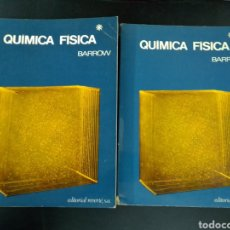 Libros de segunda mano de Ciencias: 1968 QUIMICA FISICA BARROW TOMO I Y TOMO II. Lote 235090810