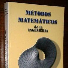 Libros de segunda mano de Ciencias: MÉTODOS MATEMÁTICOS DE LA INGENIERÍA / BAYÓN, GRAU Y SUÁREZ / ED. UNIVERSIDAD DE OVIEDO 2002. Lote 235123040