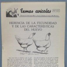 Libros de segunda mano: TEMAS AVICOLAS. ARENYS DE MAR. 122. Lote 235184155