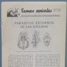 Libros de segunda mano: TEMAS AVICOLAS. ARENYS DE MAR. 125. Lote 235184290