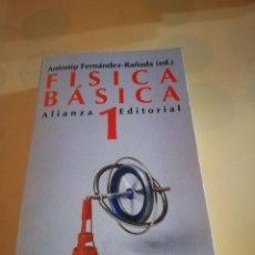 Libros de segunda mano de Ciencias: FISICA BASICA TOMO 1. ANTONIO FERNANDEZ-RADAÑA. EDITORIAL ALIANZA. 1993.. Lote 235285195
