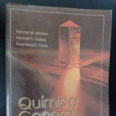 Libros de segunda mano de Ciencias: QUIMICA GENERAL TERCERA EDICION TAPA BLANDA, ESTA COMO NUEVO. Lote 235635560