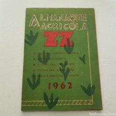 Livros em segunda mão: ALMANAQUE AGRICOLA 1962 ZZ. Lote 235682810